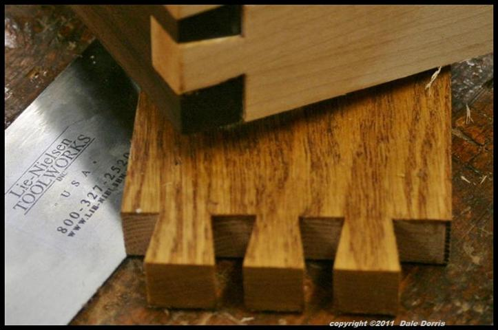 from Elias dating dovetail joints